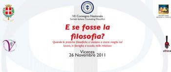Locandina Convegno Nazionale Counseling Filosofico